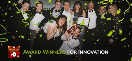Proud winners of regional innovation award!