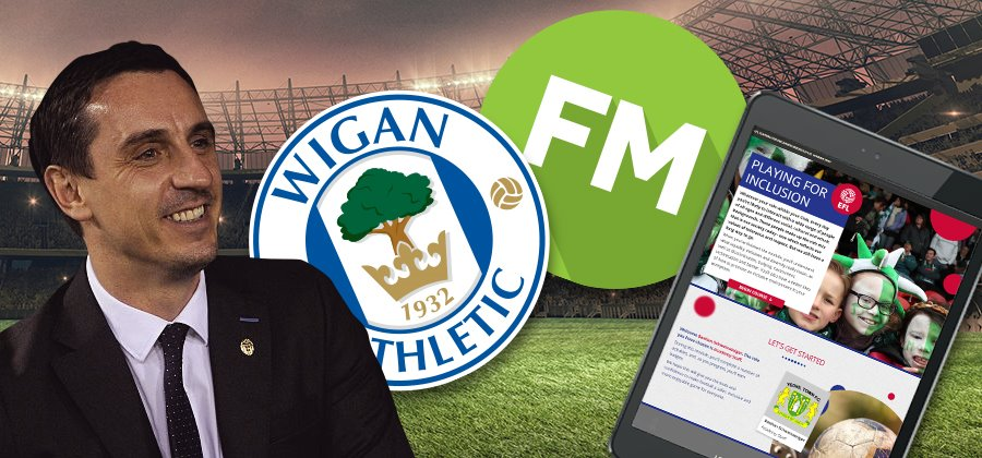 Gary Neville, the battle of the iPads and Wigan as Champions