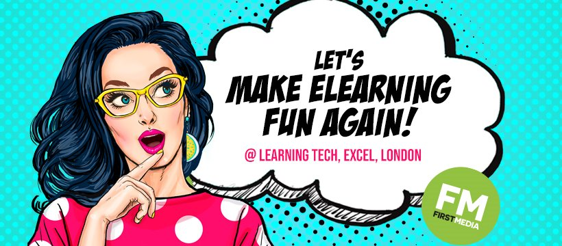 Visit us at Learning Tech 2019!