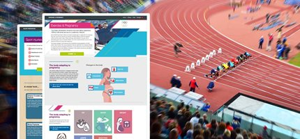 Health and Well-being course for Olympic Athletes