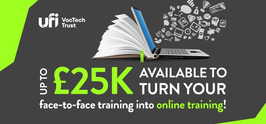 Funding available to move your face-to-face training online!