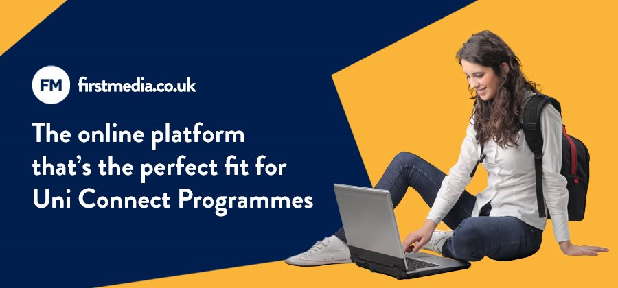 The online platform that's the perfect fit for Uni Connect Programmes